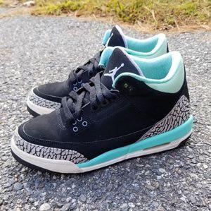 """Air Jordan 3 Retro """"Black Mint"""""""